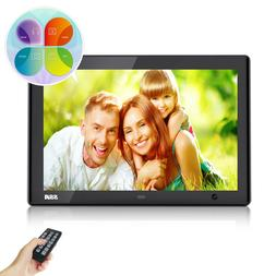 10 inch Digital Picture Frame with Motion Sensor Photo Music