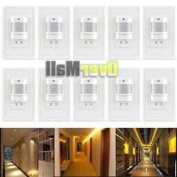 10 x Auto On/Off Infrared PIR Occupancy Vacancy Motion Senso