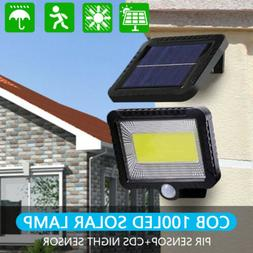 100 led solar sensor lights light motion