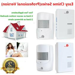1Byone 1000ft Long Range Wireless Door Bell Driveway Alarm A