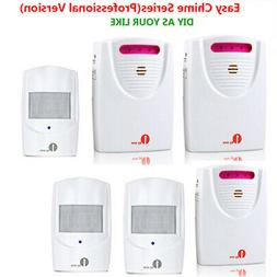 1byone 1000ft Twin Wireless Driveway Alarm Alert System Moti