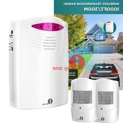 1byone 1000FT Wireless PIR Motion Sensor Security Systems Dr