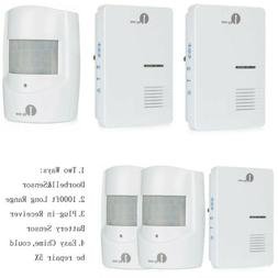 1byone 1000ft Wireless Plug Door Bell &Driveway Alarm Alert