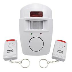 105dB Security Alarm Siren with IR Motion Detector and Dual