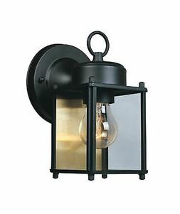 "Designers Fountain 1161-BK 1 Light 4.75"" Wall Lantern, Black"