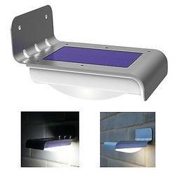 16 LED Solar Power Motion Sensor Garden Security Lamp Outdoo