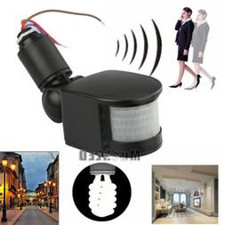 180° LED Outdoor 12V Infrared PIR Motion Sensor Detector Wa