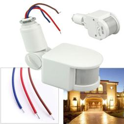 180° LED Outdoor Security PIR Infrared Motion Sensor Detect