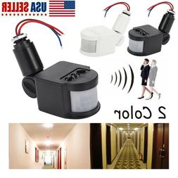 180° Outdoor LED Security PIR Infrared Motion Sensor Detect