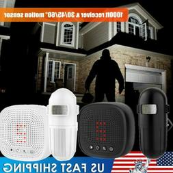 1byone Wireless Motion Sensor Alarm Security PIR Detector Dr