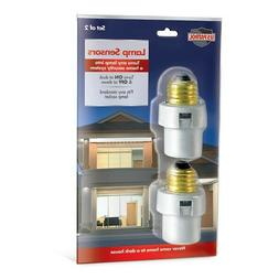 2 Lamp Sensors Automatic Dusk to Dawn Security Light Switch