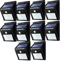 20LED Solar Power Road Motion Sensor Wall Light Outdoor Gard