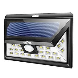 24 solar power motion sensor
