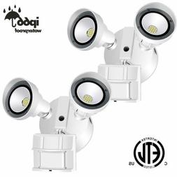 AntLux Outdoor Motion Sensor Flood Light 2Pack 28W LED Secur