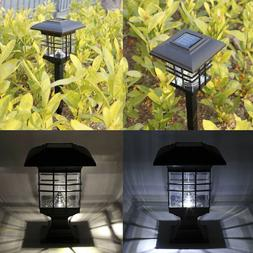 2x Waterproof LED Solar Powered Lamp Outdoor Garden Yard PIR