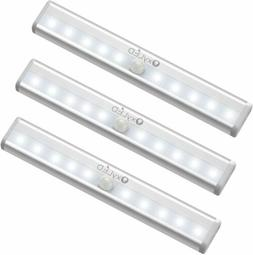 3 PCS OxyLED Motion Sensor Closet Lights Cordless Under Cabi