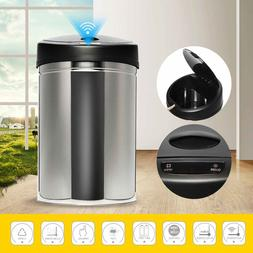 30/40/50/60L Stainless Steel Automatic Electronic Dustbin Se
