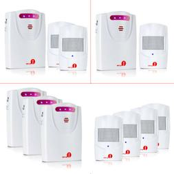 1Byone 1000ft Long Range Wireless Alarm System Driveway Aler