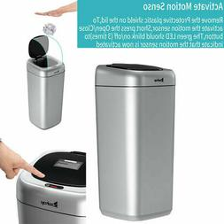 35L Large Automatic Kitchen Sort Trash Can Waste Bin with Sm