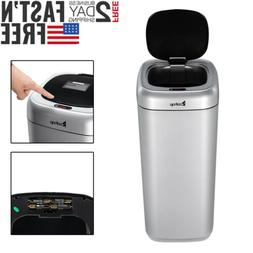 35L Smart Touch-Free Motion Sensor Automatic Trash Can Kitch