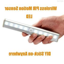 3640 10LED Under Cabinet Counter Chargeable Strip Light Bar