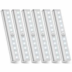 6 Pack Wireless Under Cabinet Lighting Battery Powered LED M