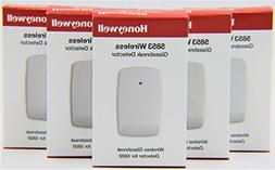 5 Pack of Honeywell 5853 Wireless Glassbreak Detector W/Moun