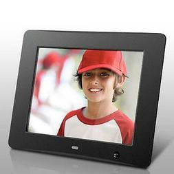Aluratek 8 inch Digital Photo Frame with Motion Sensor and 4