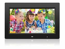 Aluratek ADMSF310F 10-Inch Digital Photo Frame with Energy E