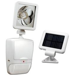 Heath/Zenith SL-7210-WH 180-Degree Solar-Powered Motion-Secu