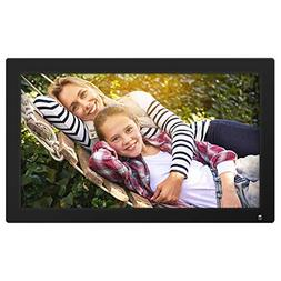 "Nixplay 18.5"" Wi-Fi Cloud Digital Photo Frame, Black"