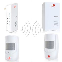 1Byone Driveway Patrol Garage Motion Sensor Alarm Wireless A