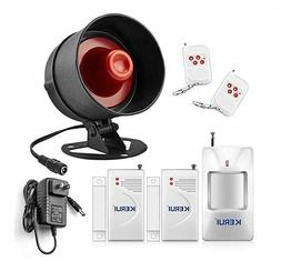 alarm siren security system remote wireless motion