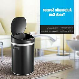 Auto Motion Sensor Recycling Bin Touchless Trash Container 2