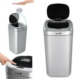 Auto Touch-Free Trash Can Smart Motion Sensor 35L Home Kitch
