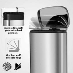 Automatic Metal Touch-Free Trash Can Smart Motion Step Senso