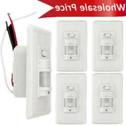 Body Infrared Motion Sensor Switch Detector Wall Mounted LED