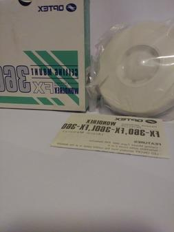 Optex Ceiling Mount Passive Infrared Motion Detector FX360 W