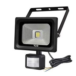 Cly 10W LED Motion Sensor Floodlight Outdoor Security PIR Fl