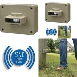 Cwpir Weatherproof Outdoor/Driveway Wireless Motion Alarm Al