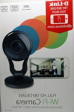 D-Link Full HD 180-Degree WiFi Security Camera  1080P Indoor