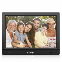 Digital Picture Frame, APESIN 14.1 Inch HD Screen with Motio