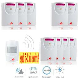 1byone 1000ft Driveway Alarm System Car Detector Infrared Mo