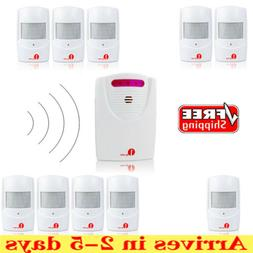 Driveway Alarm Patrol Garage Motion Sensor Infrared Wireless