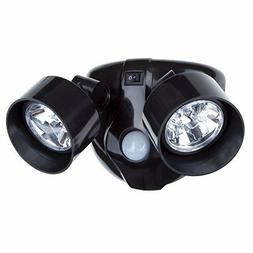 Dual Head Security LED Light Motion Sensor spot Battery Powe