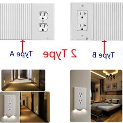 Night Angel Light LED Wall Outlet Coverplate Sensor Guidelig