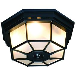 Entryway Light Motion Sensor Fixture Porch Ceiling Outdoor M