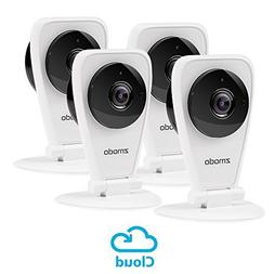 Zmodo 4-Pack EZCam HD Wireless Kid and Pet Monitoring Securi
