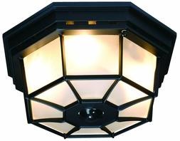 Foyer Entry Light Motion Sensor Fixture Porch Ceiling Outdoo