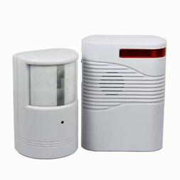 Garage Front Door Driveway Motion Sensor Alarm Infrared Wire